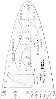 bruchfestes Messlineal 20//25//30 cm franz/ösische Kurvenschablone Lineal Zeichnen Zeichnen Zeichnen Schneider Designer Supply 30 cm bhty235