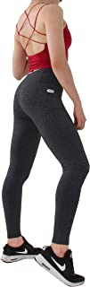 Muelbur Women's Pocket Leggings - High Waist Peach Buttock Design - 4 Way Stretch - Breathable and Soft - Tummy Control