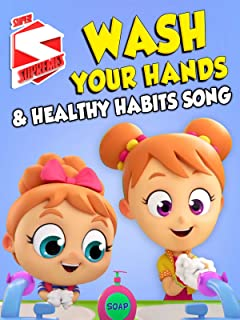 Wash Your Hands & Healthy Habits Song - Super Supremes