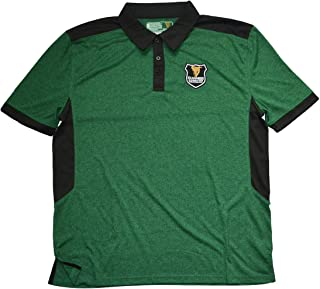 Bottle Green and Black Guinness Polo Shirt with Harp Crest