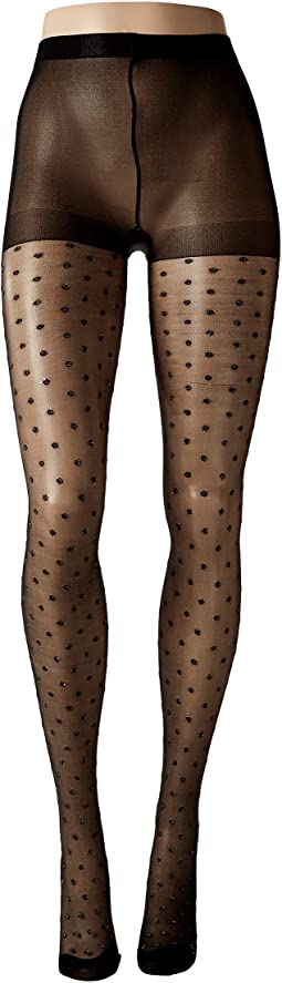 Shiny Dot Sheer Tights
