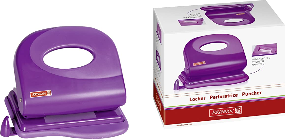 Fountain Punch Unit (Office) Colour Code, Metall/Plastic, 20 Sheet, Purple