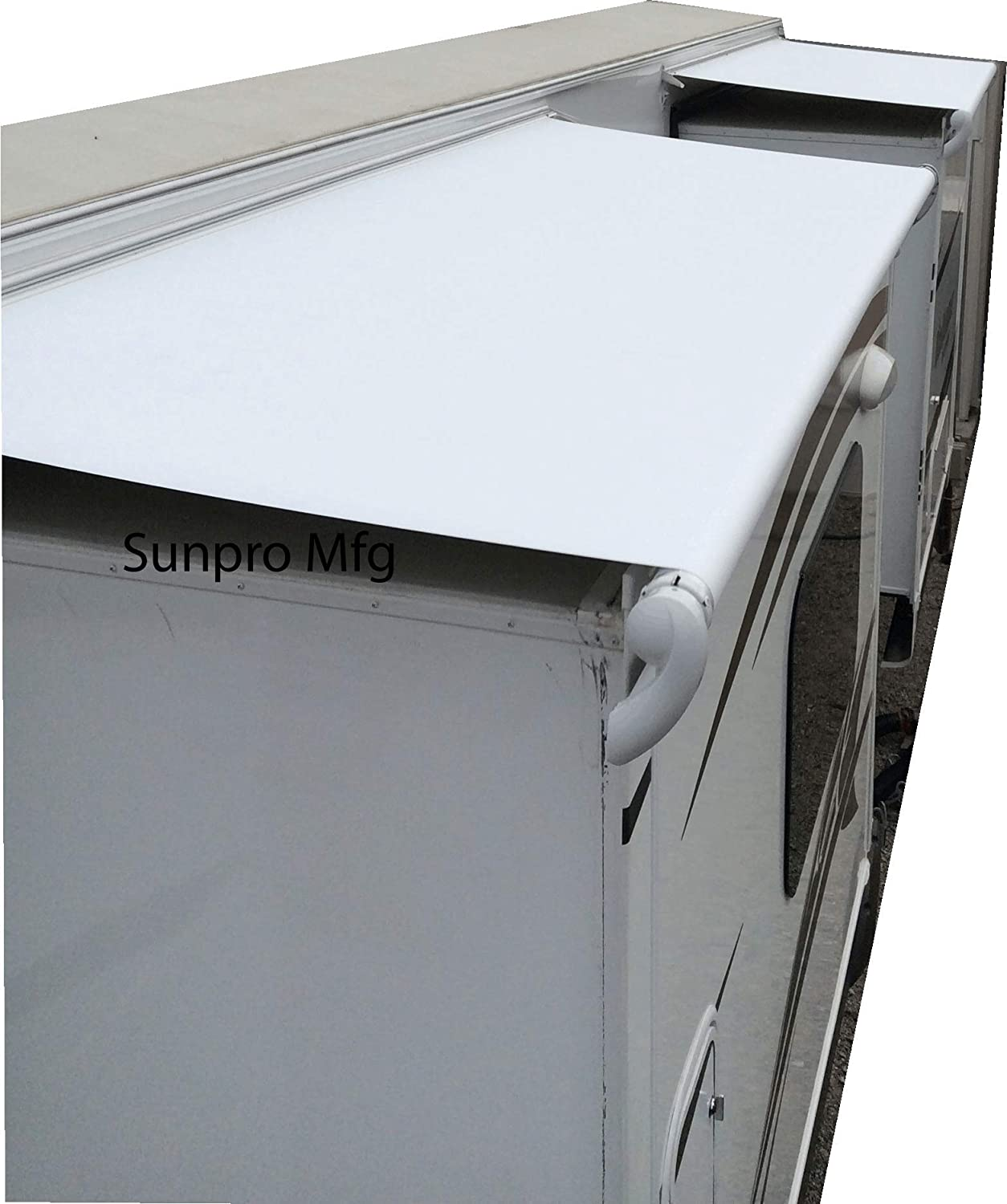 RV Slide Out Replacement Awning List price Fabric 18oz Year cheap White Warrant 5