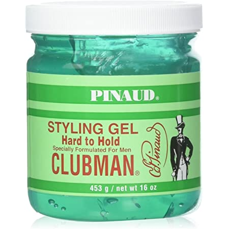 Clubman Hard to Hold Styling Gel, 16 oz