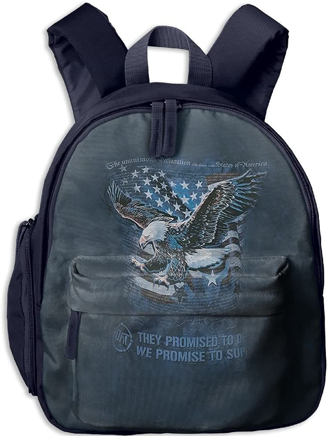 Lightweight Kids School Eagle Defend Backpack