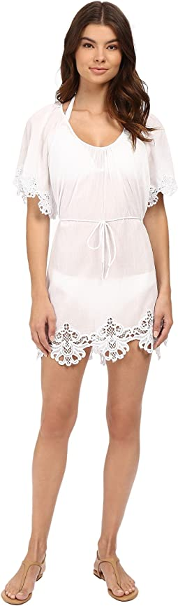 0c9f2fc642 Nally millie black white lace tunic | Shipped Free at Zappos