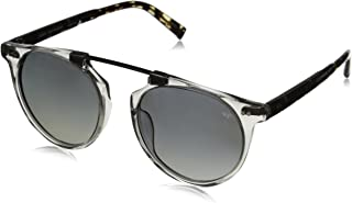 John Varvatos Men's V602 Polarized Round Sunglasses