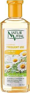 NaturVital Champú Sensitive Uso frecuente Camomila - 300 ml (7349S)
