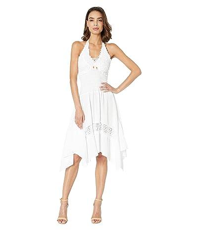 Scully Cantina Alaysia Flirty Halter Dress (White) Women