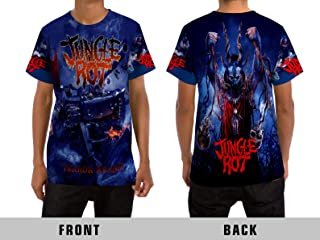 Jungle Rot (Terror Regime) Death Metal Rock Band All Over Sublimation Print