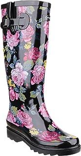Cotswold - Botas de agua con estampado floral modelo