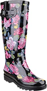 Cotswold Womens/Ladies Rosefest Floral Pattern Wellies