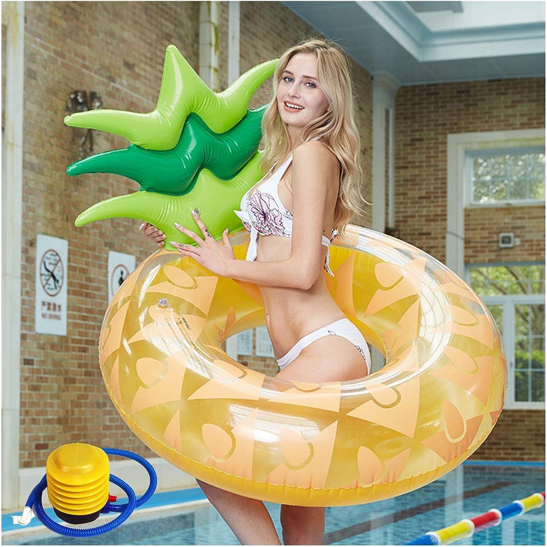 Sin impuestos MIAO Cama Flotante de la Piña de de de la Piña Grande estupenda Flotante Adulta Inflable de la natación del Anillo el 120cm de la natación,Lifebuoy-OneTalla  precio al por mayor