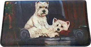 West Highland White Terrier Dog Wallet by Ruth Maystead (4 1/4'' x 7 1/4'')