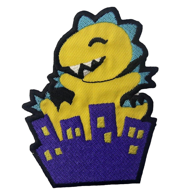 Cragla's Destruction Patch Cartoon Embroidered Applique Iron On Sew On Emblem