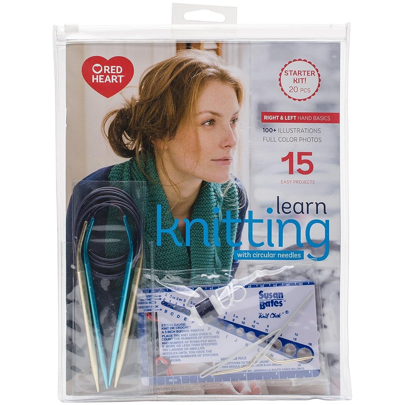 Susan Bates K17381 Bates Needles Learn Circular Knitting Kit