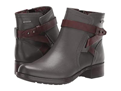 Rockport Copley Strap Waterproof Boot (Grey) Women