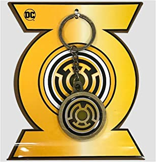 Justice League sinestro keychain   World s Finest Collection   Yellow Lantern Symbol   Green Lantern Villain