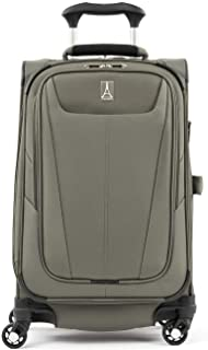 Maxlite 5 – Softside Expandable Spinner Wheel Luggage, Slate Green, Carry-On 21-Inch