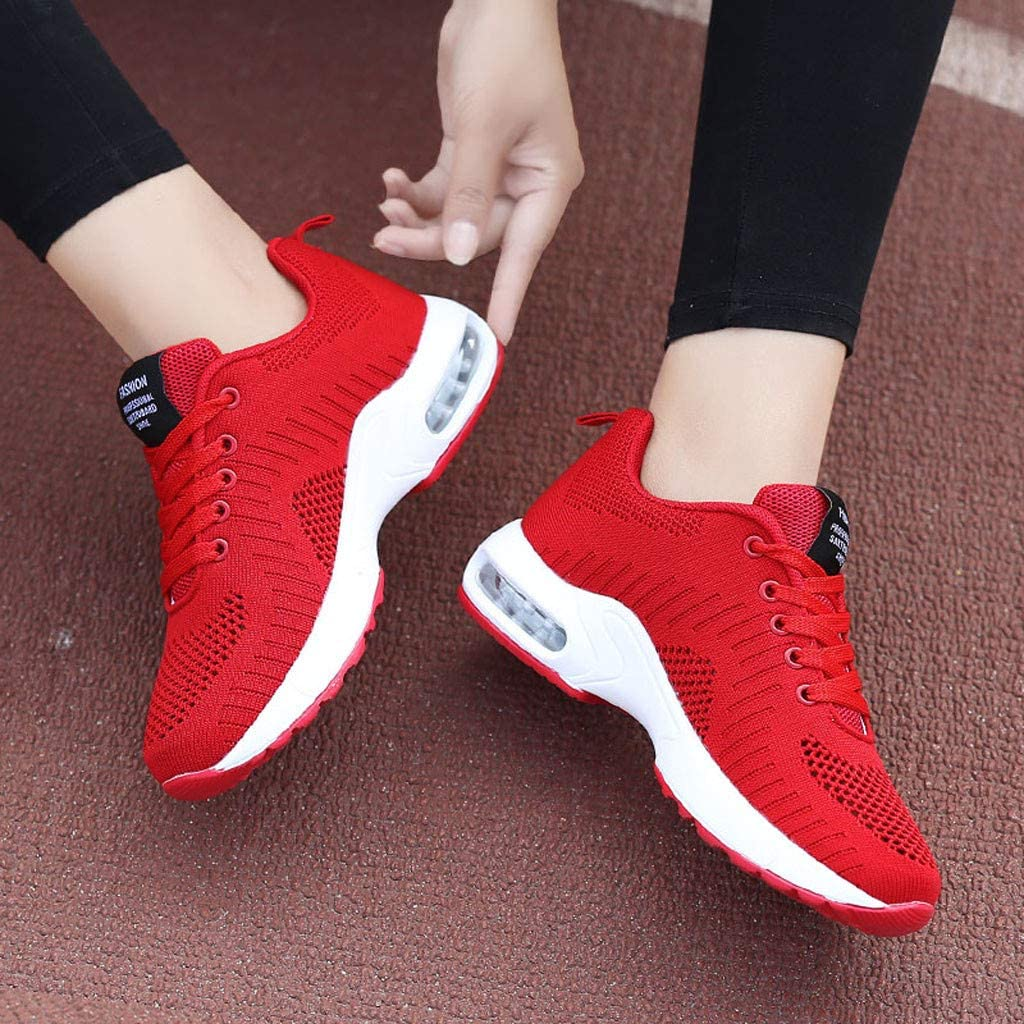 PowerFul-LOT Running Shoes Women 2019 New Trail Casual Indoor Comfort Athletic Cheap Lightweight Road Fashion Ladies Breathable Anti-Slip Cushion Sneakers Casual Running Shoes