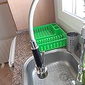 acero inoxidable 304 sin plomo DUTRIX Grifo de cocina 360/° con alcachofa grifo de agua para cocina en la ventana