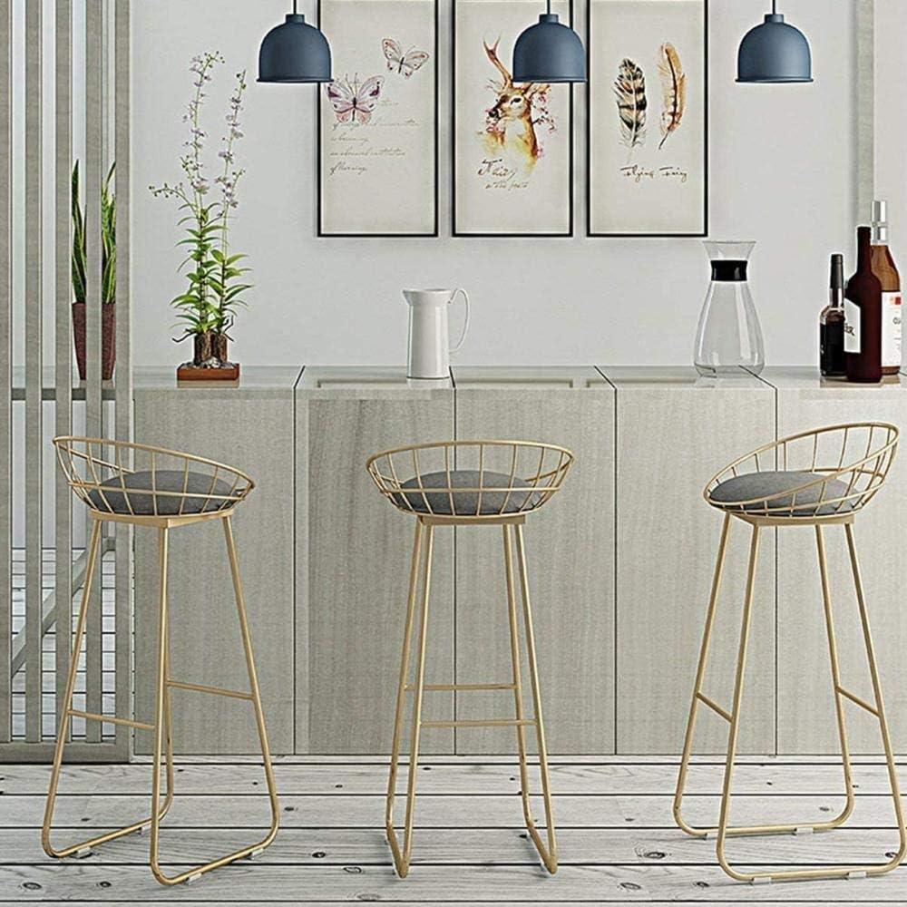 Panier sale Escabeau 3 Escabeau But Pliable et Step Portable Tabouret avec Anti-Slip Mat chaises Pliantes (Color : Gold) Gold
