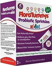 FloraTummys Probiotics for Kids: 30 Taste-Free, Probiotic Powder Packets, Free of Food Allergens, Dairy Free, Gluten Free Sugar Free, Non-GMO, Vegan. 5 Billion CFU, B. Lactis, L. Acidophilus (1)