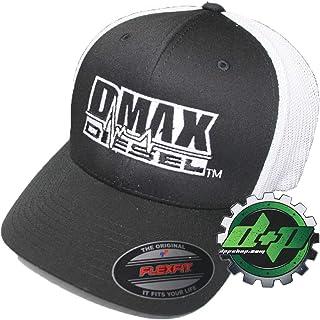 e6a329e70b9ae DMAX Diesel Flexfit Fitted Flex fit Trucker Ball Cap hat Chevy Duramax  Center