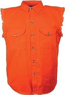 MILWAUKEE PERFORMANCE Men`s Denim Sleeveless Shirt
