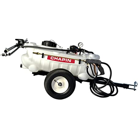 CHAPIN International Inc. 97600 15-Gallon, 12-Volt EZ Tow Dripless Fertilizer, Herbicide and Pesticide Sprayer, 15-Gallon (1 Sprayer/Package)