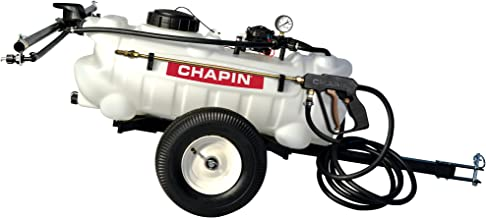 tow behind weed sprayer with boom