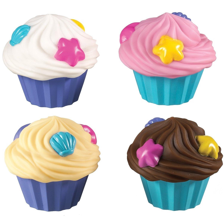 Bath Toy - Munchkin - Cupcake Squirts 4Pcs New 15717