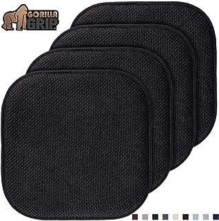 Gorilla Grip Original Premium Memory Foam Chair Cushions,...