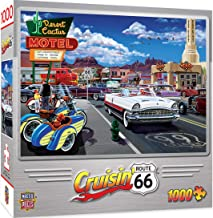 MasterPieces Cruisin' Route 66 Jigsaw Puzzle, Drive Through On, Featuring Art by Bruce Kaiser, 1000 Pieces