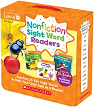 Nonfiction Sight Word Readers Parent Pack Level D: Teaches 25 key Sight Words to Help Your Child Soar as a Reader!
