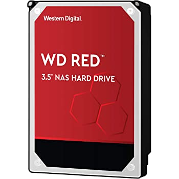 """WD Red 2TB NAS Internal Hard Drive - 5400 RPM Class, SATA 6 Gb/s, CMR, 64 MB Cache, 3.5"""" - WD20EFRX (Old Version)"""