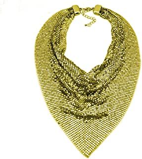 Best gold mesh scarf necklace Reviews