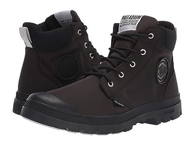 Palladium Pampa Lite Cuff WP (Black/Black) Shoes