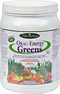 PARADISE HERBS ORAC ENERGY GREENS,60SERV, 364 GRM, EA-1