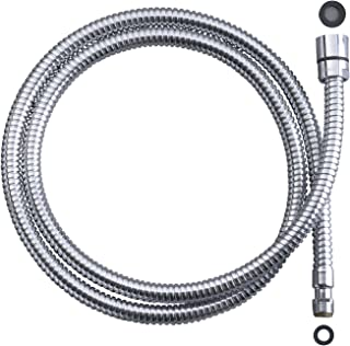 Kohler GP78825-CP Hose for Select Kitchen and Deck Mounted Handshowers, Chrome Finish
