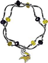 Siskiyou NFL womens Crystal Bead Bracelet