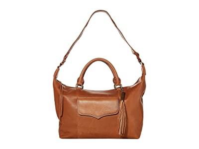 The Sak Sierra Leather Convertible Satchel (Tobacco) Handbags