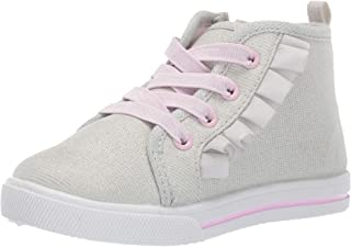 Kids Tazanna Girl's Ruffle High-top Sneaker