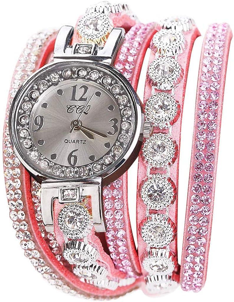 Muranba Max 45% OFF WatchesCCQ Women Vintage Crystal Di Shining Bracelet Great interest