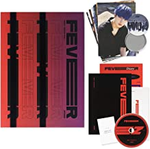 ATEEZ 5Th Mini Album - ZERO : FEVER PART.1 [ DIARY ver. ] CD + Photo Booklet + Diary Booklet + Sticker + Post Cards + Phot...