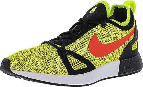 Nike Wohommes Duel Racer Volt Bright Crimson-noir Ankle-High Ankle-High FonctionneHommest chaussures - 6.5M  gros pas cher