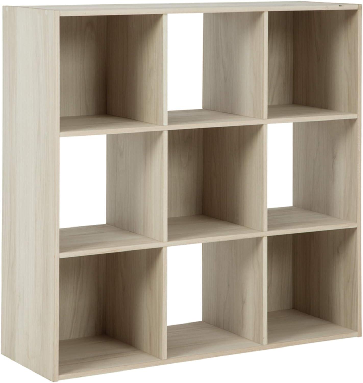 Nine Cube Organizer storage similar to Ikea Kallax