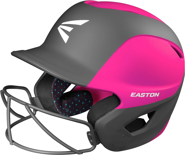 EASTON Special sale item depot GHOST Softball Batting Helmet Matt Two-Tone Pink Charcoa