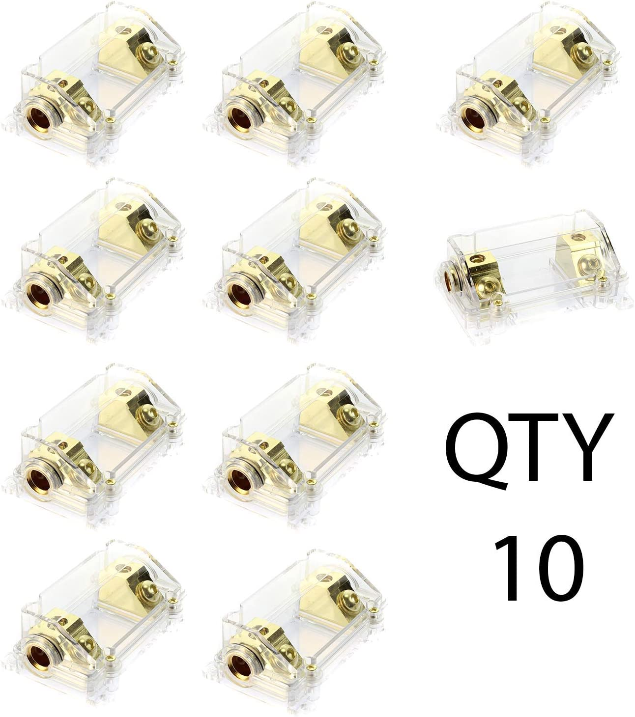 VOODOO Ranking TOP4 Gold Fuse Holder Super-cheap 2 0 or 1 - 45 Angled Gauge Deg Co w