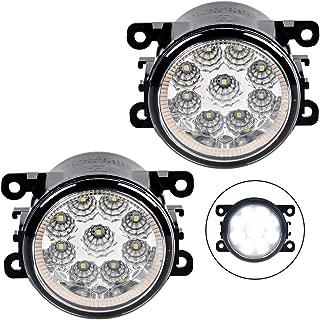 Front Left + Right Lower Bumper Fog Lights Set For Suzuki 2009-2013 Swift 2005